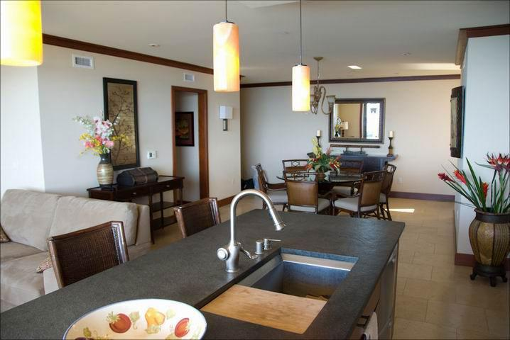 Kitchen area - Ko Olina: Elite Beach Front Category Penthouse - Kapolei - rentals