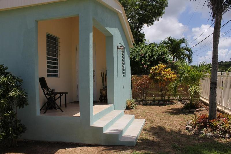 Front balcony - Coralina.....Perfect for couples! - Isla de Vieques - rentals