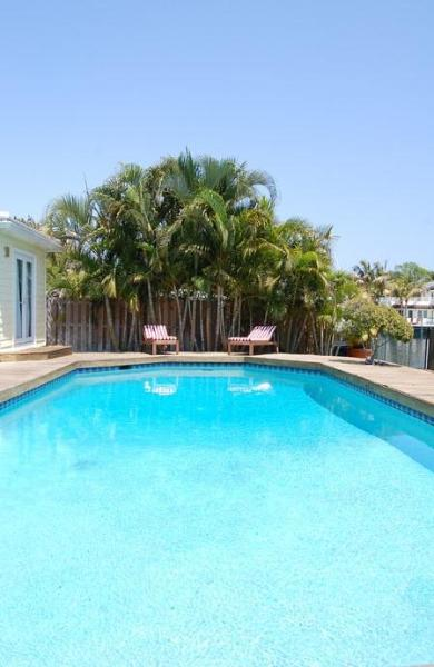 Heated pool - Waterfront 5 bedroom villa, steps from the beach - Fort Lauderdale - rentals