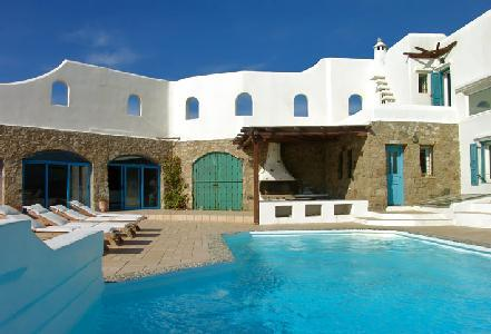 Hilltop haven Aeolos with dazzling ocean and island views, serene pool & terrace - Image 1 - Houlakia - rentals