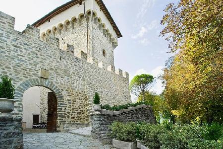 Amazing Castello Ducale is a restored and renovated castle surrounded by forest - Image 1 - Perugia - rentals