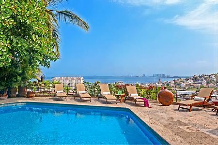 Ocean view Casa Ileana- near Los Muertos Beach, pool & rooftop terrace - Image 1 - Puerto Vallarta - rentals