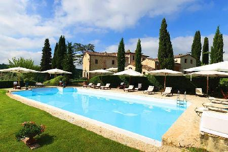 Recently Restored, Secluded Villa Gaia - Stunning Interiors, Breathtaking Views - Image 1 - Chianti - rentals