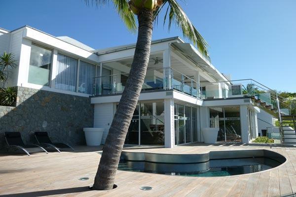 Modern villa located in St. Jean offering breathtaking views WV CLG - Image 1 - Saint Jean - rentals