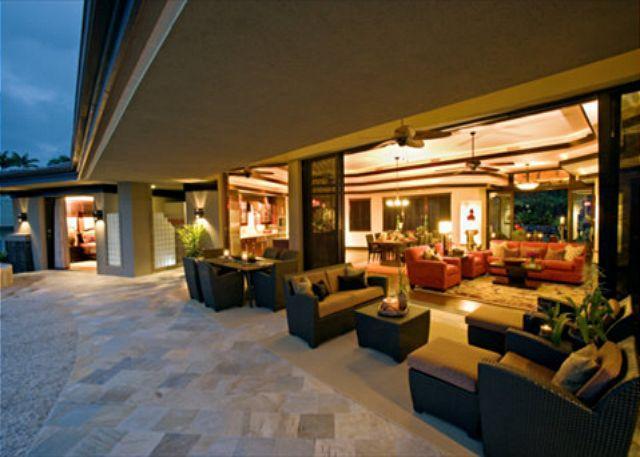 Indoor ~ Outdoor Living - Tropical Dream Home - Keauhou Estates Hale O' Nani-PHKEST1 - Kailua-Kona - rentals