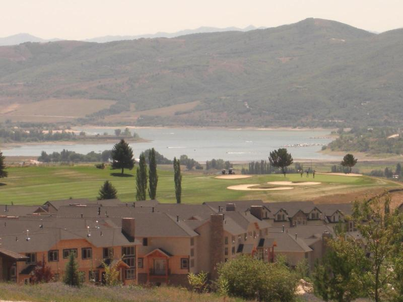 View of Pineview Lake & Golf Course - Frm $99/Nite Snow Basin, Powder Mtn, Lake Vu Cndo - Eden - rentals