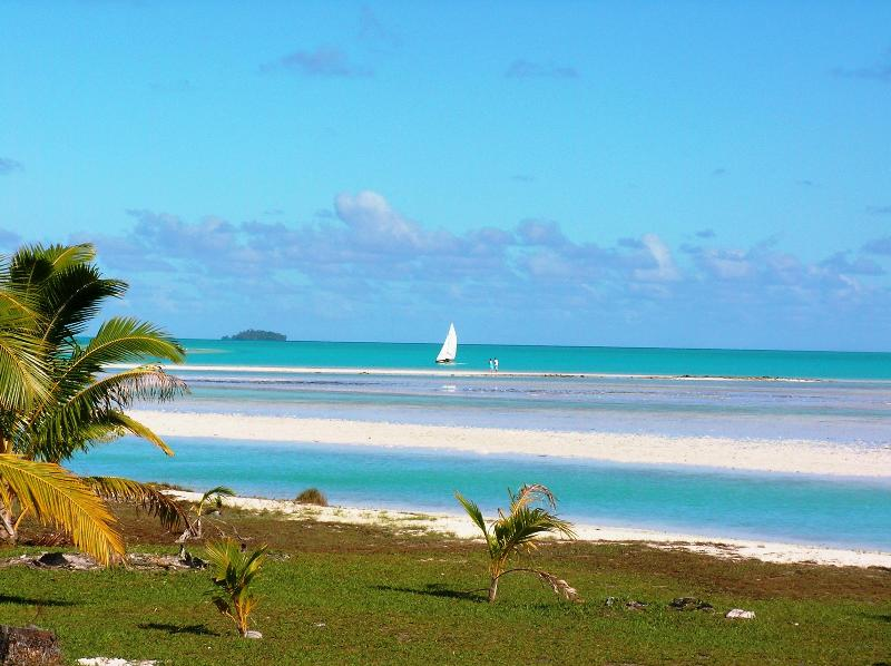 Amazing view from front decking - Aitutaki Ootu Villa - Aitutaki - rentals