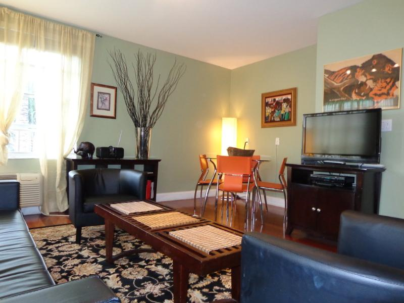 Another View of the Living Room-Dining Area - THE HUDSON ONE BEDROOM -SOUTH BEACH-PRIME LOCATION - Miami Beach - rentals