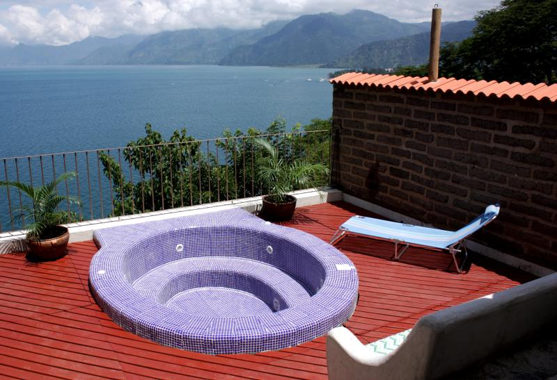 Jacuzzi day time - 2 Luxurious Villas Perched Above Lake Atitlan - Santa Catarina Palopo - rentals