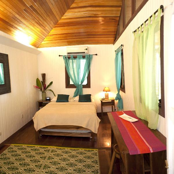 2 bedrooms with tall ceilings, restored original hard wood floors, 2 baths, and modern amenities. - Beachfront Punta Uva: Storied Home, Modern Comfort - Punta Uva - rentals
