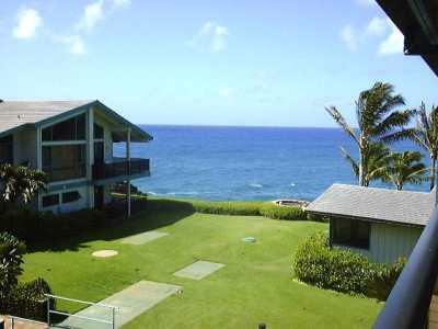 Ocean View from Lanai - Makahuena Resort, #1308 - Poipu - rentals