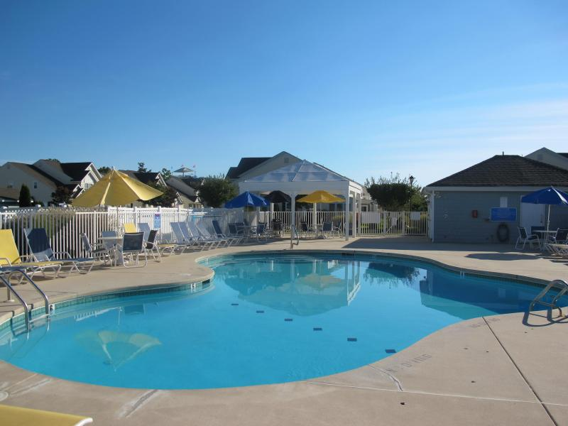 Community pool - Luxurious & affordable large townhme Bike to BEACH - Rehoboth Beach - rentals