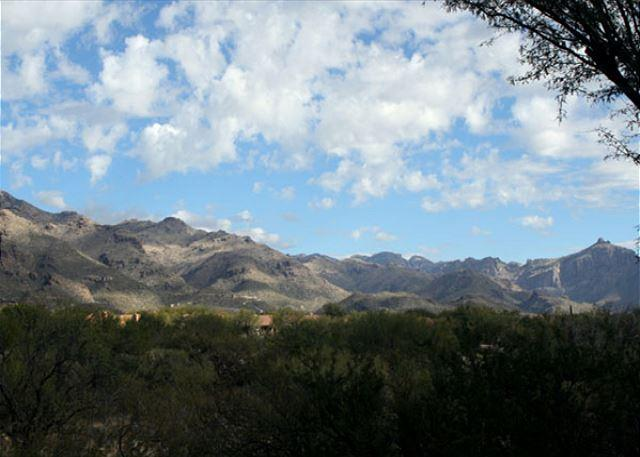 Patio View - Gorgeous Mountain Views, Extended Patio & Heated Pool & Spa at Your Door Step - Tucson - rentals