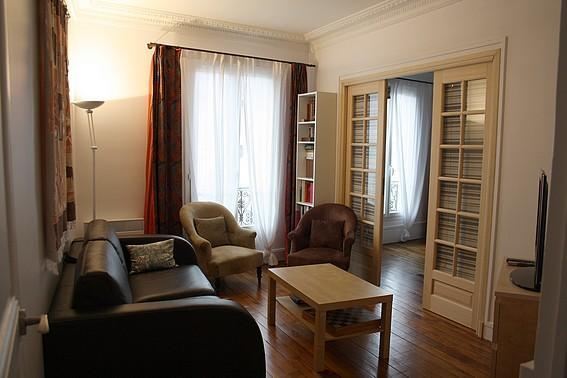 Beautiful 1 BR on the Famous Rue Lepic - apt #793 - Image 1 - Paris - rentals