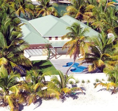 Palm Beach Villa Jolly Harbour, Antigua - Beachfront, Pool, Landscaped Gardens - Image 1 - Jolly Harbour - rentals