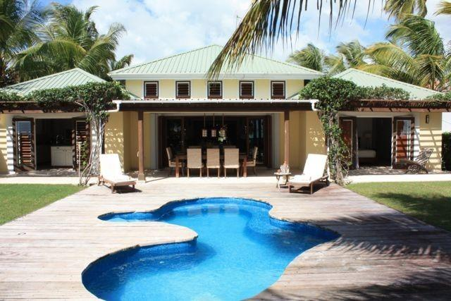 Palm Beach Villa Jolly Harbour, Antigua - Beachfront, Pool, Landscaped Gardens - Image 1 - Jolly Harbour - rentals