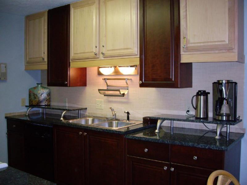 Design inspired kitchen with Granite! - 4 Balconies, Well Appointed, CLEAN & Dog friendly! - Myrtle Beach - rentals