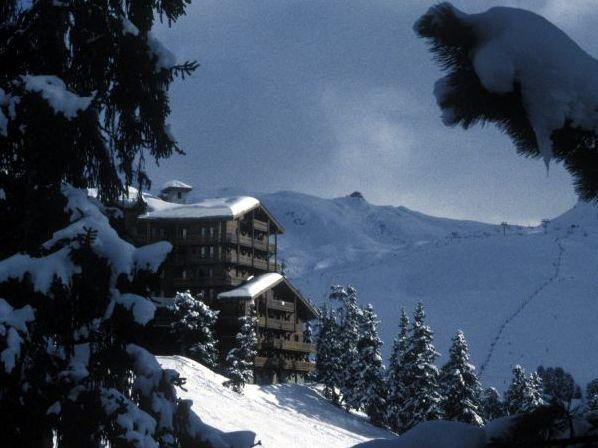 Chalet Chardon from the treeline - Ski in/out Chalet in Belle Plagne, Macot-La-Plagne - Macot-la-Plagne - rentals