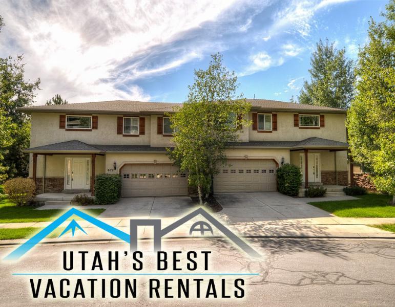 Sleep 22 in 2 separate homes (combined 6 bedrooms, 5 bathrooms, 2 hot tubs, 2 garages) - Sleep 22! 2 Sep Hms (Groups & Fams!)+Hot tubs+Park - Salt Lake City - rentals
