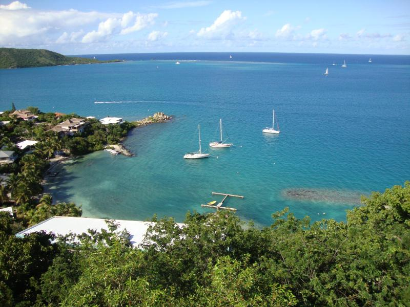 Imagine waking to this view each morning! - Villa Alizés - on Virgin Gorda's North Sound - Virgin Gorda - rentals