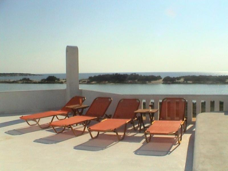 View from roof terrace - Naxos Waterfront Villa with Pool and Panorama View - Kastraki - rentals