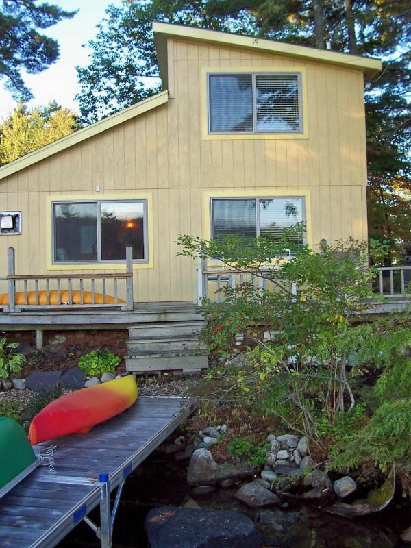 4-Season Waterfront Cottage - Belgrade Lakes Rental on McGrath Lake - Oakland - rentals