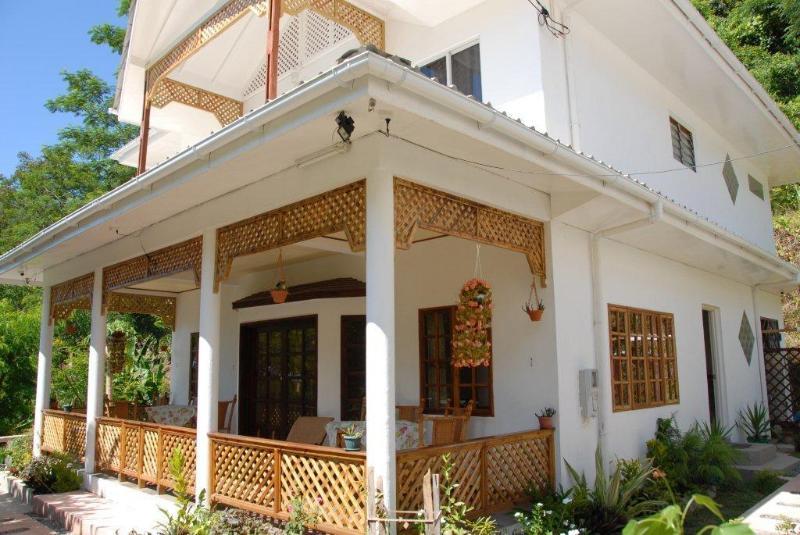 View from Garden - SunGlow Holiday Villa - Tropical / Sunset Views - Beau Vallon - rentals