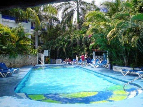 NA301C - Pool view - 2 bed - two bath - Image 1 - Playa del Carmen - rentals