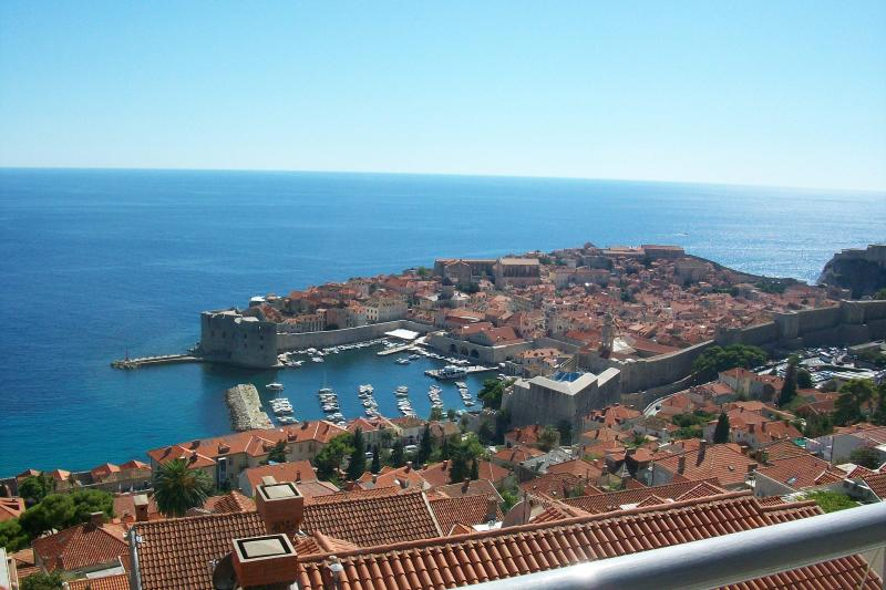 View from Terrace! - Amazing Apt. Historic views in Great Location (#1) - Dubrovnik - rentals