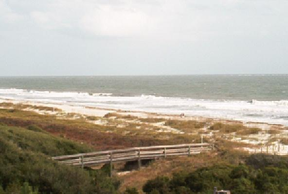 "Oceanfront view from den, kitchen and balcony - Hilton Head AR416 - ""Ocean1"" 2BR/2BA oceanfront - Hilton Head - rentals"