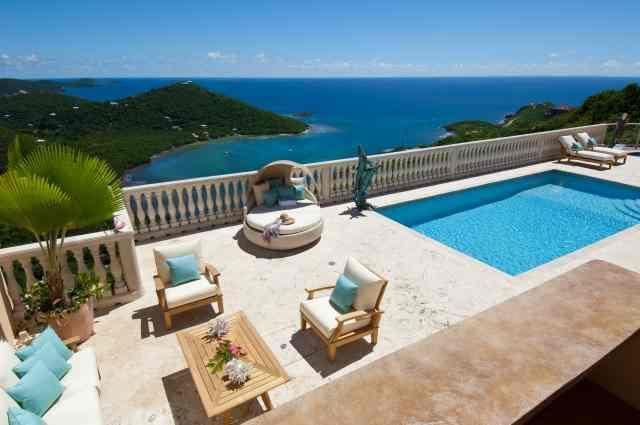 Amazing Views of ever changing colors of the ocean - Eco Serendib Villa & Spa - Call for Specials! - Cruz Bay - rentals