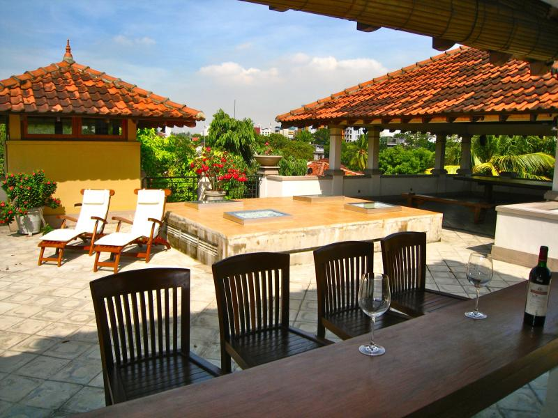 The rooftop - Treetops Luxury Homestay - Colombo - rentals