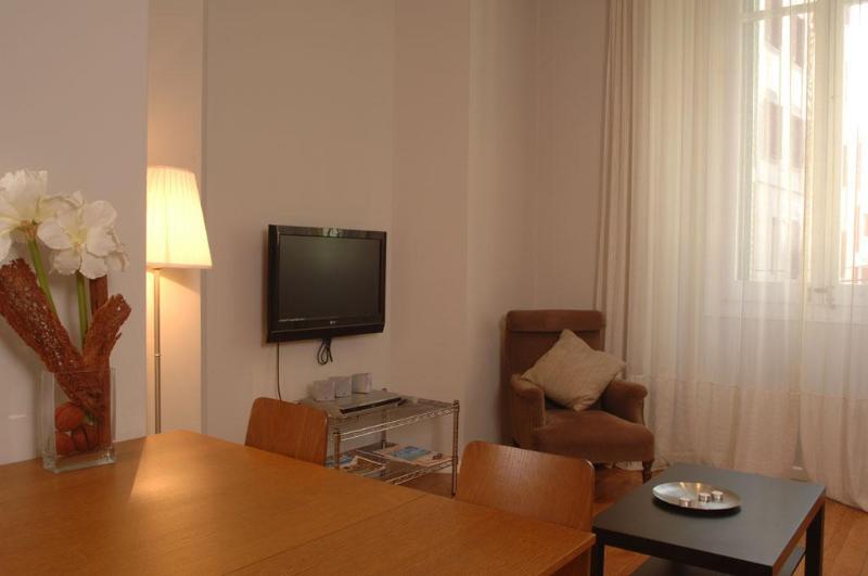 Living Room - Passeig de Gracia - 2 bedroom apartment - Barcelona - rentals