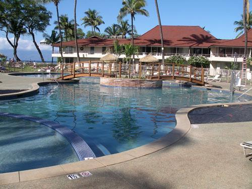 Front Pool with Whirlpool Spa/Kiddie Pool - Maui Kaanapali Villas Studio Full Resort Services - Lahaina - rentals