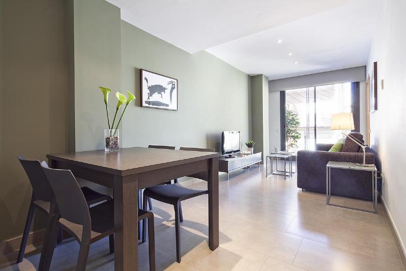 Living room - Virreina - 1 bedroom with balcony - Barcelona - rentals