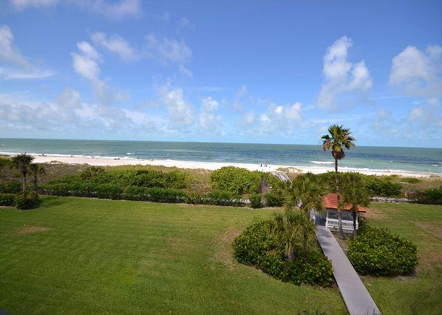 Lands End 10-405 - Gulf Front Top Floor Corner Condo in Paradise! Free WiFi! - Image 1 - Treasure Island - rentals