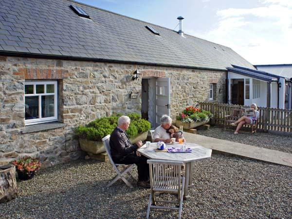 BWTHYN BACH, family friendly, luxury holiday cottage, with a garden in Newport, Pembrokeshire, Ref 6161 - Image 1 - Newport - rentals