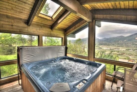 Hot Tub - Sky View Chalet - Steamboat Springs - rentals