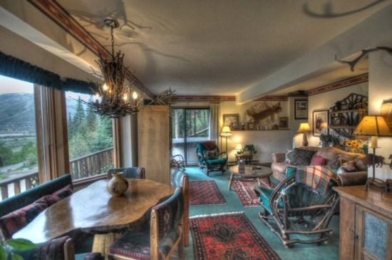 Living Area - Evergreen Cottage - Steamboat Springs - rentals
