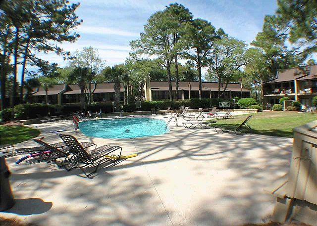 Beach Villas Swimming Pool - Beach Villa 13 - Oceanside Townhouse - Recently Updated - Hilton Head - rentals