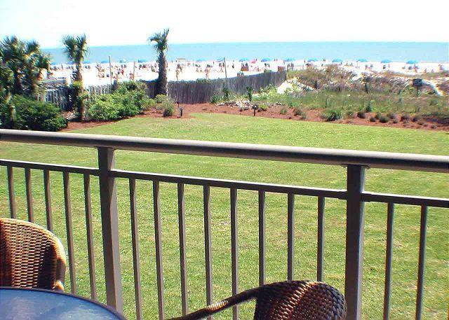 Ocean One 203 - Oceanfront 2nd Floor Condo - Image 1 - Hilton Head - rentals
