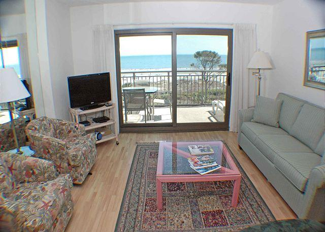 Ocean One 503 - Oceanfront 5th Floor Condo - Image 1 - Hilton Head - rentals