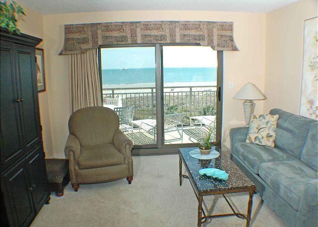 Ocean One 511 - Oceanfront 5th Floor Condo - Image 1 - Hilton Head - rentals
