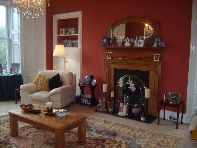 Lounge - Elegant B&B in Crieff, Perthshire, Scotland - Crieff - rentals