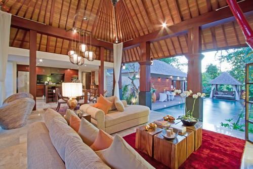 Living room - Luxury one bedroom Villa - Seminyak - rentals