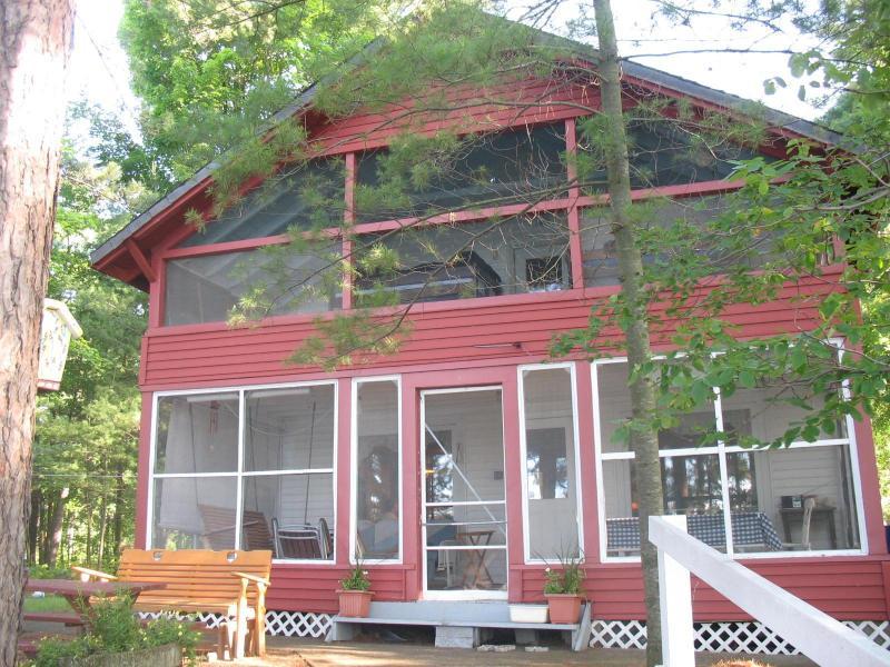 Front of Camp - Brantingham Lake House Adirondack Getaway - Brantingham - rentals