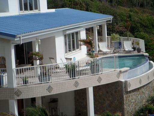Dawn Beach Villa, Saint Maarten - Ocean View, Walk to Beach - Image 1 - Dawn Beach - rentals