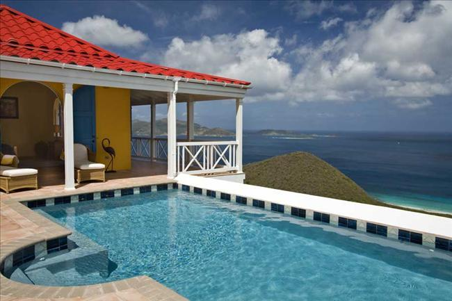 Sunny Side Up at Morningside Lane, Tortola - Ocean View, Amazing Sunset View - Image 1 - Belmont - rentals