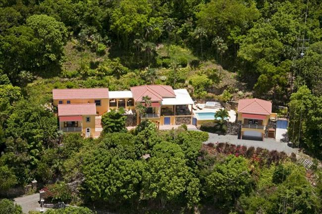 Tara at Belmont, Tortola - Ocean View, Pool, Secluded - Image 1 - Belmont - rentals