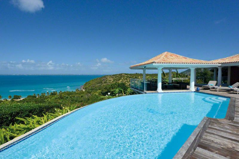 Villa Happy Bay at Happy Bay, Saint Maarten - Ocean View, Pool, Walking Distance To Beach - Image 1 - Sint Maarten - rentals